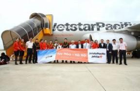 Jetstar Pacific khai thác đường bay Hà Nội-Tuy Hòa từ ngày 16/12/2015